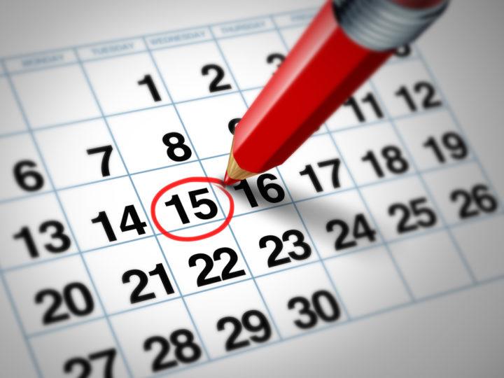 Calendario Attività